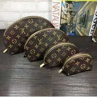 LV Louis Vuitton Cosmetic Bags For Accessories Travel Storage Cosmetic Bag Four Piece Suit F