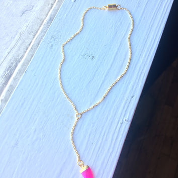XS Hot Pink Necklace
