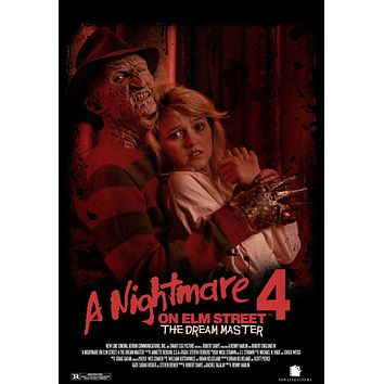A Nightmare on Elm Street 4: Dream Master 11x17 Movie Poster (1988)