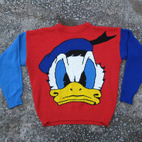 vintage Donald duck sweater