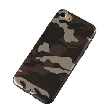 Camouflage Print Cellphone Case for iPhone