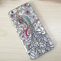 Peacock iPhone 5s 6 6s Plus Case Super Light Cover Gift-168