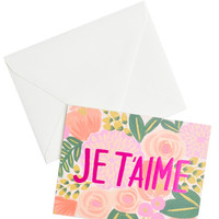 Je T'aime Card Set