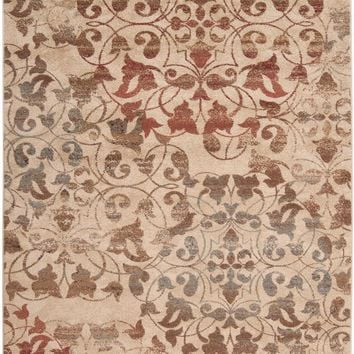 Surya Riley Floral and Paisley Red RLY-5009 Area Rug