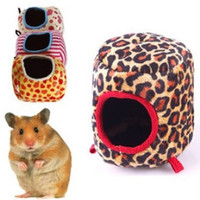 1 pc Pet Products Warm Soft Hammock House Pet Sleeping Bag for Ferret Rabbit Rat Hamster Squirrel Parrot Hanging Bed Mini House