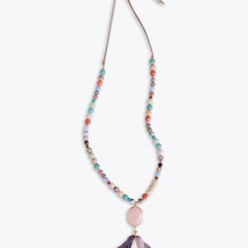Cristina Tassel Necklace