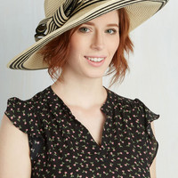 Nautical Style My Sunshine Hat in Natural by ModCloth