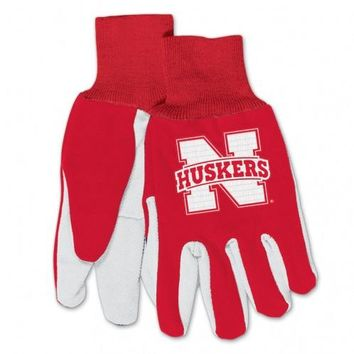 Nebraska Cornhuskers - Adult Two-Tone Sport Utility Gloves