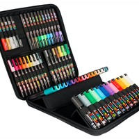 POSCA 60 piece pen carry case