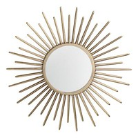 Round mirror - Gold-coloured - Home All | H&M US