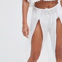 Wolf & Whistle Beach Trousers