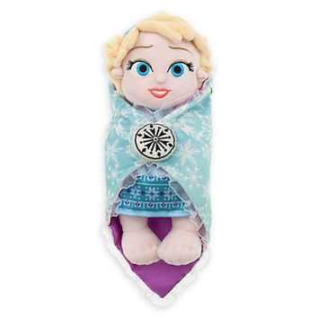 disney parks frozen baby elsa with blanket plush new with tags