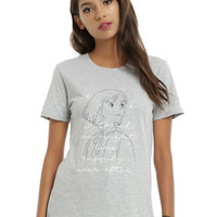 Her Universe Studio Ghibli Howl's Moving Castle Happily Ever After Girls T-Shirt