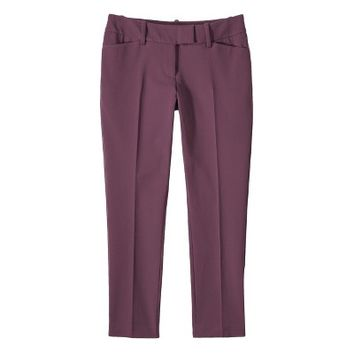 Mossimo® Women's Tailored Stretch Ankle Pant - Purple