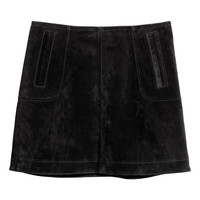 H&M Short Suede Skirt $79.99