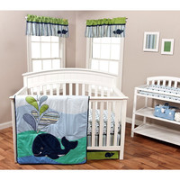 Trend Lab Anchors Away 3 PC Baby Nursery Crib Bedding Set New