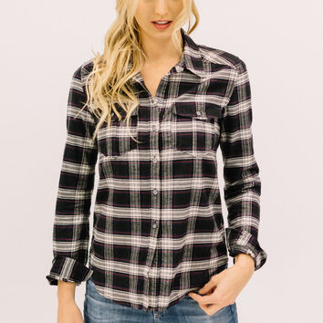 Carlton Plaid Shirt