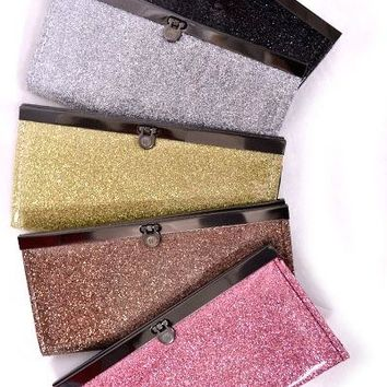 Shine Time Sparkle Small Clutch