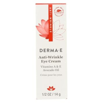 Derma E Anti - Wrinkle Vitamin A Eye Crme - 0.5 Oz.