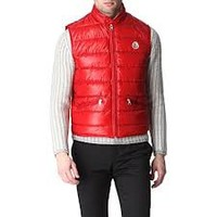 moncler gilet red - Google Search