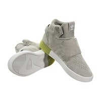 Adidas Tubular Invader Strap Lifestyle Shoes (Grey)