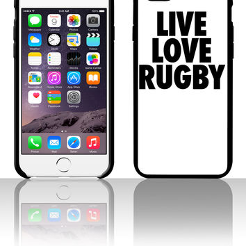 Live Love Rugby 5 5s 6 6plus phone cases