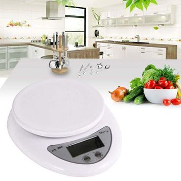 ICIKGQ8 free shipping high quality useful new 5kg 5000g 1g digital kitchen scales food diet postal scale balance p eho