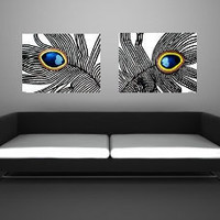 Swarovski Elements crystals original acrylic paintings by LydiaGee