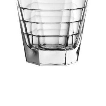 Majestic Gifts E63835-S6 Quality Glass Double Old Fashioned Tumbler 11.5 oz Set of 6