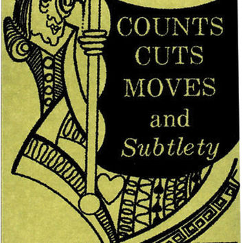 book: card techniques - counts, cuts, moves and subtlety
