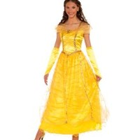 Adult Gold Princess Disney Costume - Women Costumes