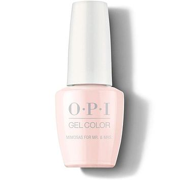 OPI GelColor - Mimosa for the Mr. & Mrs 0.5 oz - #GCR41