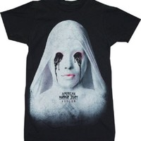 American Horror Story Asylum White Nun Adult T-shirt
