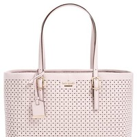 kate spade new york 'milton lane - shawn' perforated leather tote | Nordstrom