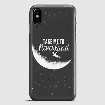 Peter Pan Take To Me Neverland iPhone X Case | casescraft