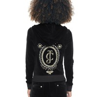 Logo Jc Bling Cameo Velour Original Jacket by Juicy Couture,