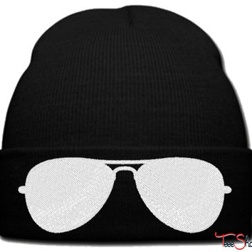 GLASSES_PXF beanie knit hat