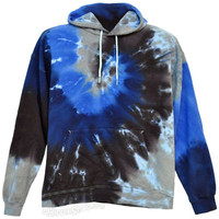 Tie Dye Night Sky Spiral  Hoodie on Sale for $47.95 at The Hippie Shop
