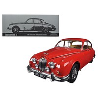 1962 Jaguar Mark 2 3.8 Carmen Left Hand Drive 1:18 Diecast Model Car by Paragon