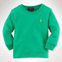 COTTON LONG-SLEEVED TEE