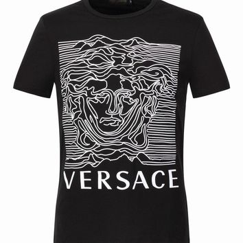 Versace T-Shirt Top Tee-34