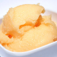 Orange Creamsicle Sugar Scrub Sample - Tangerine Vanilla Scrub with Shea Butter and Cocoa Butter Trial Size- SHIPS AFTER AUGUST 13th