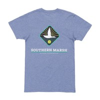 Branding Collection - Flying Duck Tee in Washed Slate by Southern Marsh - FINAL SALE