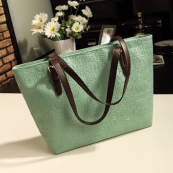 Korean Ladies Bags Vintage Simple Design Shoulder Bags [6581805895]