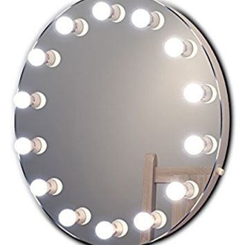 Diamond X Hollywood Makeup Mirror with Dimmable LED k250WW