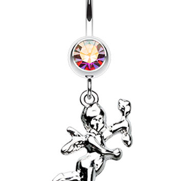 Cupids Love Belly Button Ring