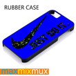Blue Nike Just Do It On Galaxy iPhone 4/4S, 5/5S, 5C, 6/6 Plus Series Rubber Case