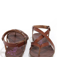 Blowfish Granola Whiskey Brown Sandals