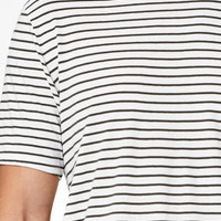 PacSun Pilsner Striped Scallop T-Shirt at PacSun.com