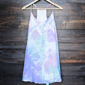 indie day dress - tie dye